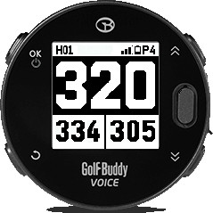 GolfBuddy Voice X Big Numbers Mode