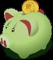 Budget-Friendly Golf Laser Rangefinder piggy bank